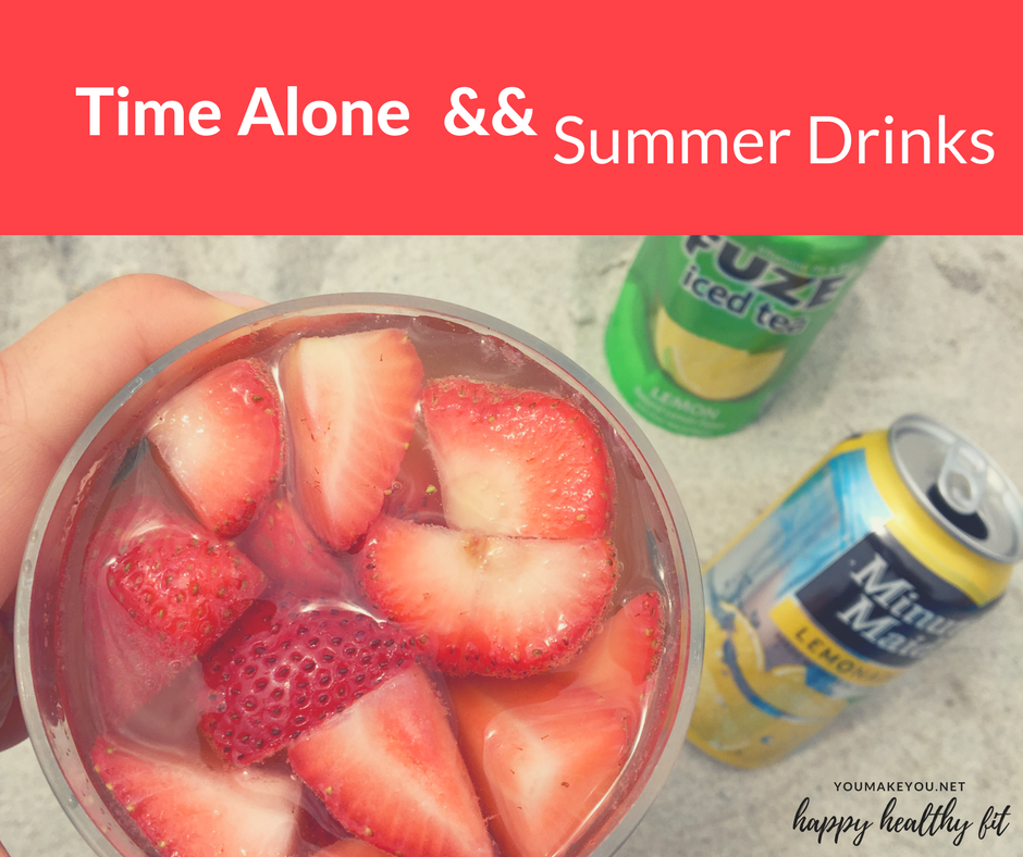Time Alone, Peapod, and Summer Drink Favorites