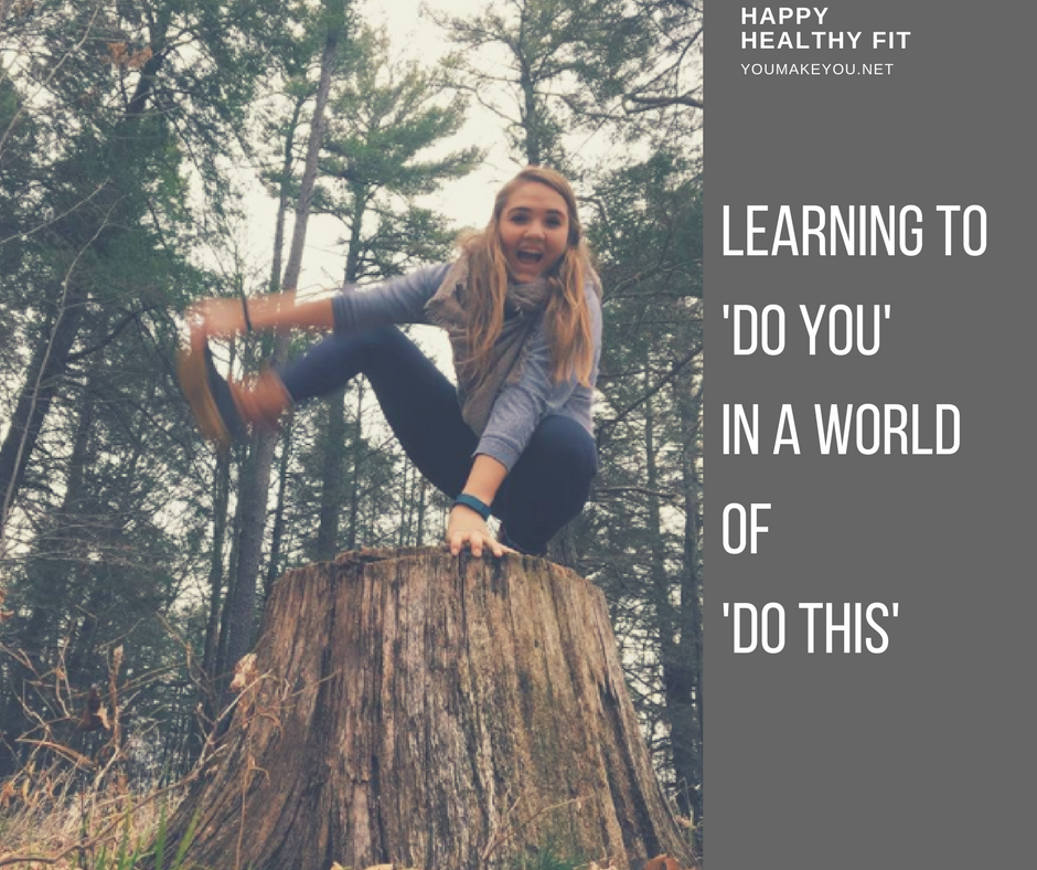 learning to'do you'in a worldof 'do this'